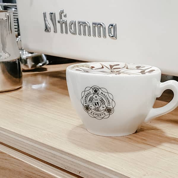 Latte Art na Fábrica do Barista