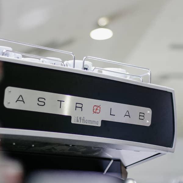 Backside of Astrolab Espresso Coffee Machine