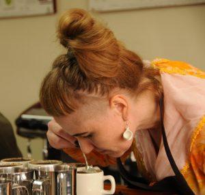 Sonja Grant coffee tasting